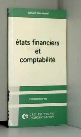 Boussard - Etats financiers et comptabilite