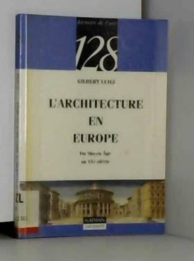 L'architecture en Europe :...