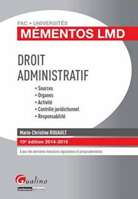 Droit administratif, 10ème Ed
