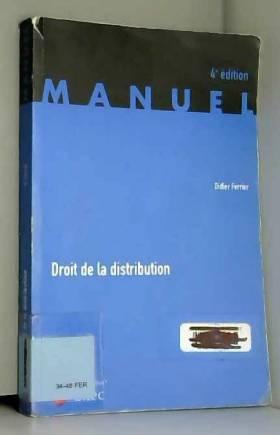 Droit de la distribution...