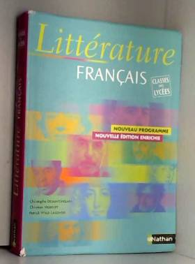 Christophe Desaintghislain - Littérature français : Classe des lycées