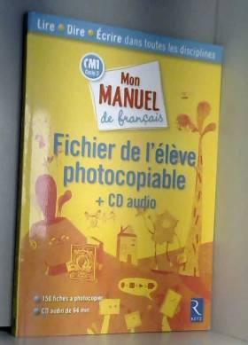 Mon manuel de français CM1...