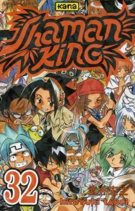 Shaman king Vol.32