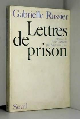 Lettres de prison.