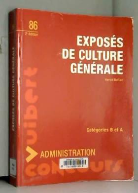 Exposés de culture générale...