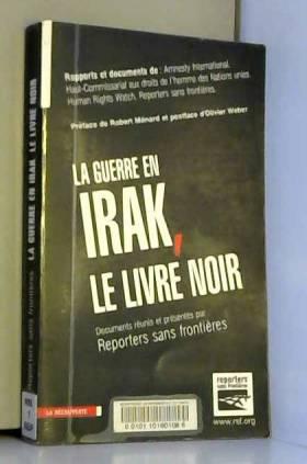 La guerre en Irak, le livre...