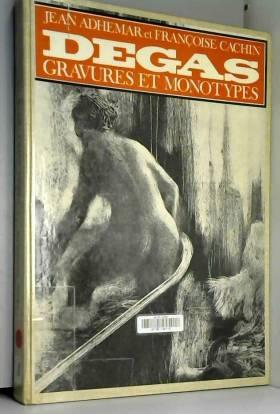 Edgar degas. gravures et...