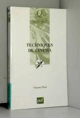 Vincent Pinel - Techniques du cinéma