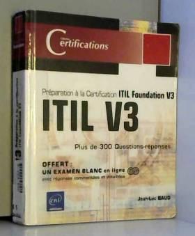 ITIL V3 - Préparation à la...