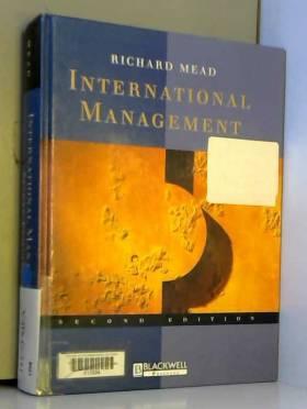 Richard Mead - International Management