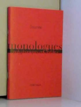Doumee - Monologues Polyphoniques en Rafale(S)