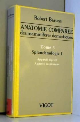 Anatomie comparée des...