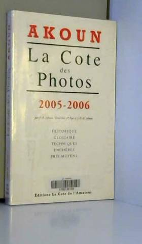 Cote des photos 2005