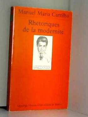 Rhétoriques de la modernité