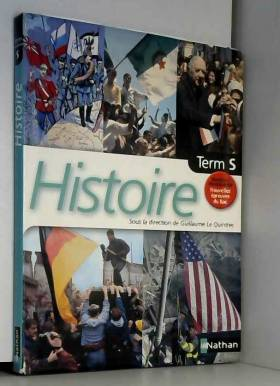 Histoire, terminale S