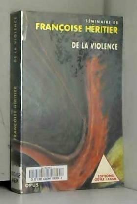 De la violence : Séminaire...