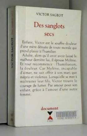 DES SANGLOTS SECS
