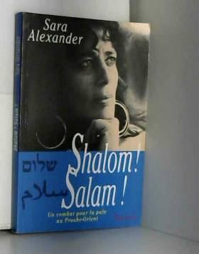 Shalom! Salam!
