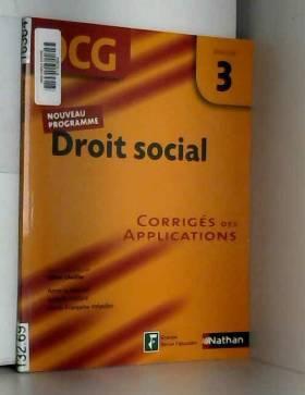 Droit social Epreuve 3 -...