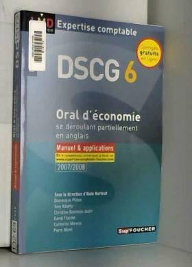 ORAL D ECONOMIE DSCG 6...