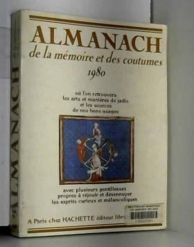 Almanach de la mémoire et...