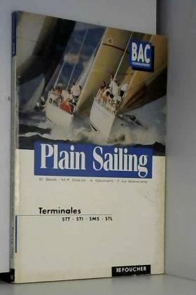 Plain sailing anglais,...