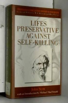 John Sym - Lifes Preservative Against Self-Killing