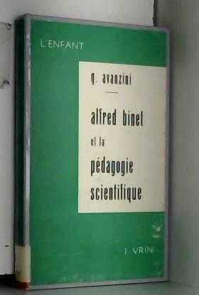 Alfred Binet et la pédagogie scientifique