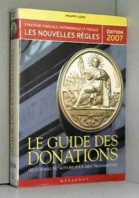 Le guide des donations :...