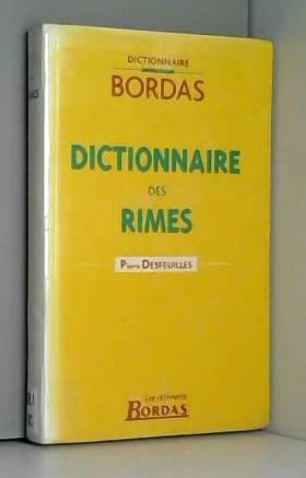 DICTIONNAIRE BORDAS DES...
