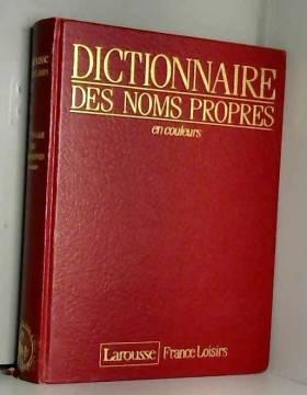 Dictionnaire des noms...