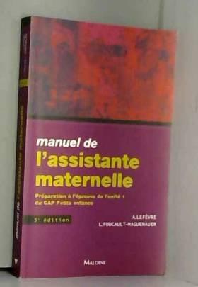 Manuel de l'assistante...
