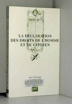 La Déclaration des Droits...