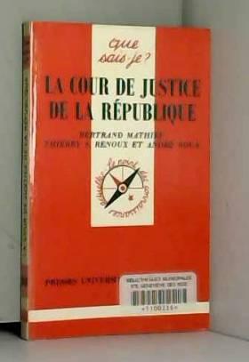 La Cour de Justice de la...