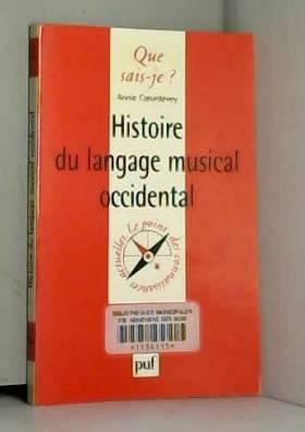 Histoire du langage musical...