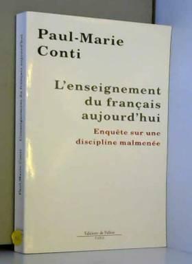 L'enseignement du français...