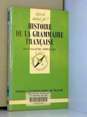 Histoire de la grammaire...