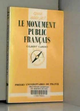 Le monument public français