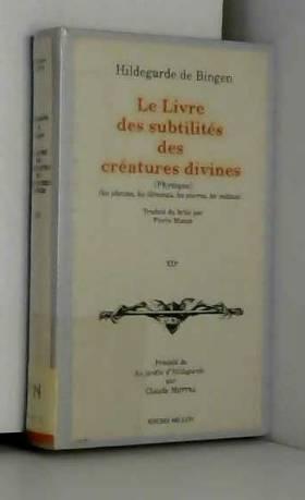 Le Livre des subtilités des...
