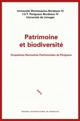 Patrimoine et biodiversité...