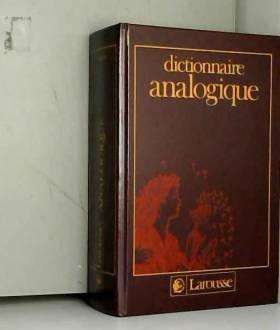 Dictionnaire analogique relie