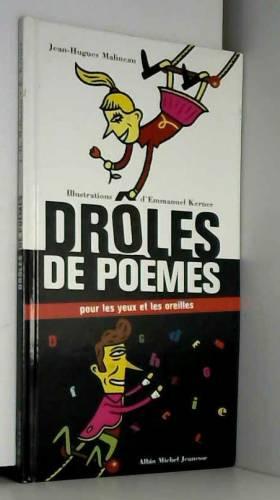 """Drôles de poèmes """"Pour les..."""