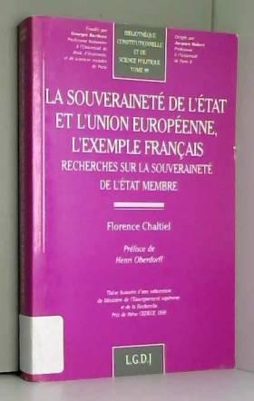 Souveraineté, état et union...