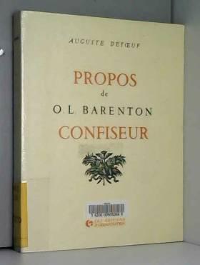 Propos de O. L. Barenton,...
