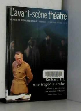 L'Avant-Scène théâtre, N°...