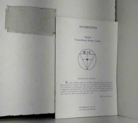texte de l'ordre antique des rose-croix anonyme - manifesto positio fraternitatis rosae crucis