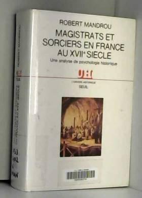 MAGISTRATS ET SORCIERS EN...