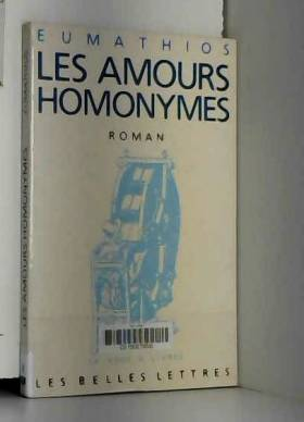 Les Amours homonymes