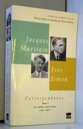 Jacques Maritan, Yves...