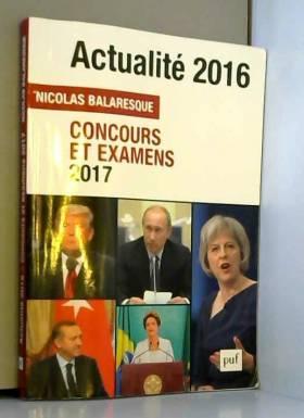 Actualité 2016 : Concours...